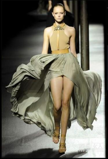 2011春夏巴黎时装周最美裙子