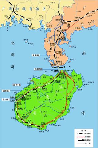 粤海铁路路线图