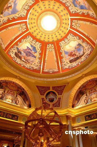 世界最大赌场澳门奢华开幕 所负寄望超博彩范围