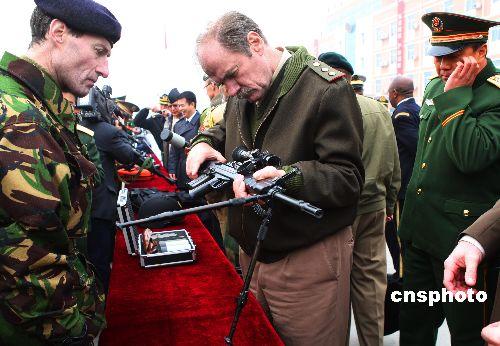 中国武警部队 雪豹突击队 反恐演习图片