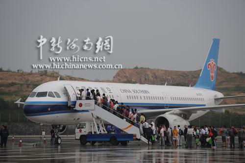 南航第九架大型全新空客飞机落户海南