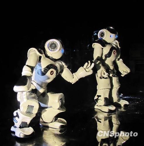智能机器人法国馆秀舞