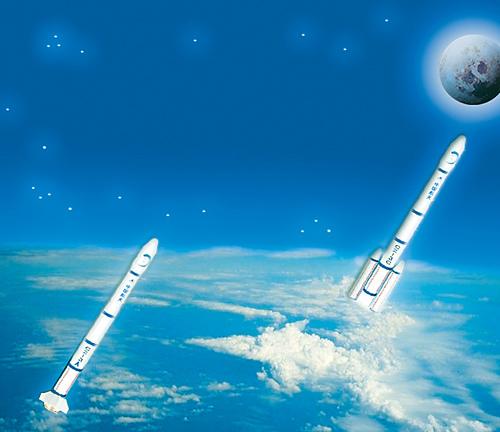 嫦娥二号奔月图