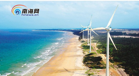 华能集团,中国海洋石油总公司等央企的实力,海南省非化石能源产业正