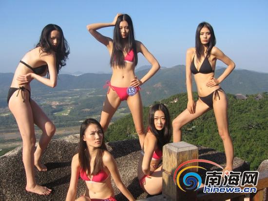 2010新丝路模特亚龙湾秀火辣身材