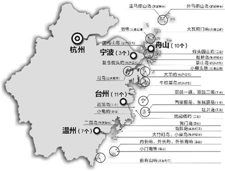 浙江海岛开发名录:哪些适合旅游 哪些能捕鱼