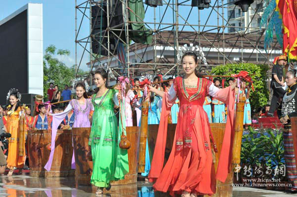 2011中国海南七仙温泉嬉水节开幕(3)