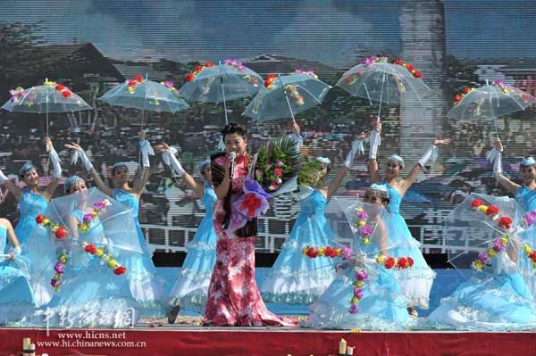 2011中国海南七仙温泉嬉水节开幕(5)