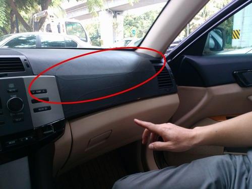 他购买的这辆丰田锐志(普通版)汽车虽然才开了6万多公里,但是驾驶室
