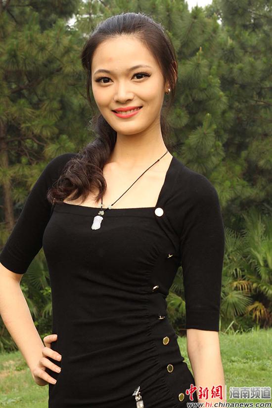 图为精功(国际)模特大赛华中赛区决赛女子组冠军蒋瑞琪.