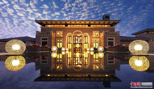海南岛西线首家国际品牌五星酒店试营业