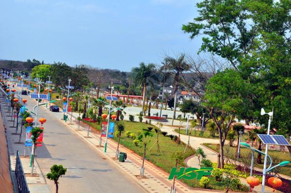 农村小广场景观设计