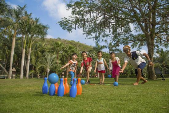 三亚文华东方儿童活动营玩转全新暑期体验