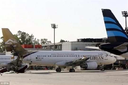 利比亚11架民航飞机失踪