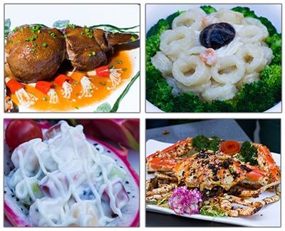 海鲜烹饪大赛部分美食