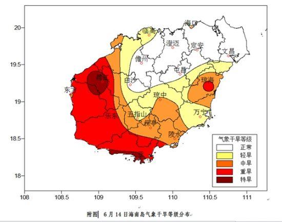 上周海南13个市县人工增雨