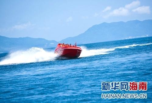 陵水分界洲岛引进新西兰动感飞艇项目