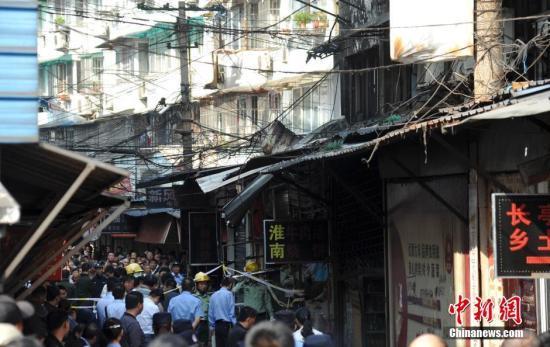 芜湖杨家巷发生爆炸的店铺被封锁
