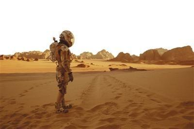 好莱坞大片《火星救援》的剧照.