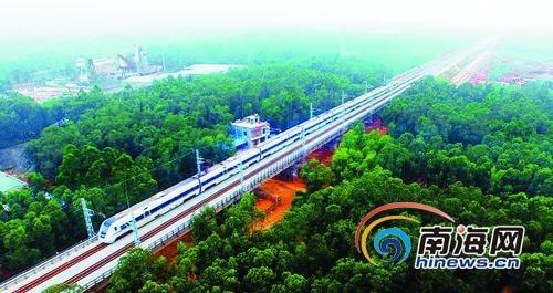 海南环岛高铁开通 国际旅游岛建设添强大引擎