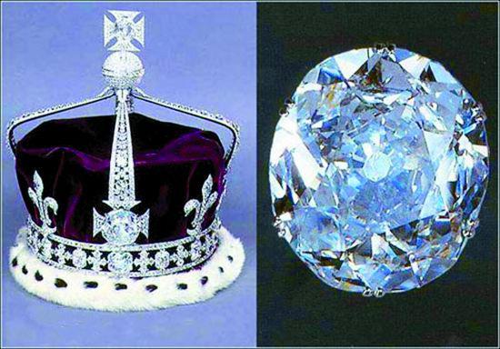 英国女王王冠 矢量图