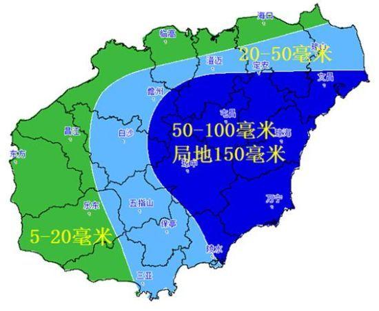 海南岛定安市地图