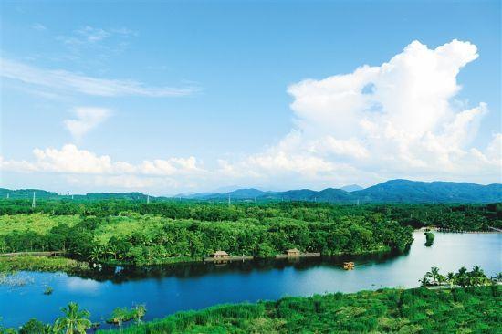 海口——木色湖——湾岭绿橙园体验(采摘)——白鹭湖旅游度假区或湾岭