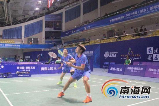 中国(陵水)国际羽毛球赛:孙飞翔激战4轮晋级8强