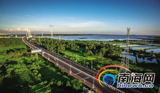 文昌滨海旅游公路预计国庆前通车
