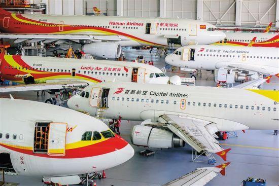 据预测,随着航空公司的飞机维修需求大幅上升,中国航空维修业将
