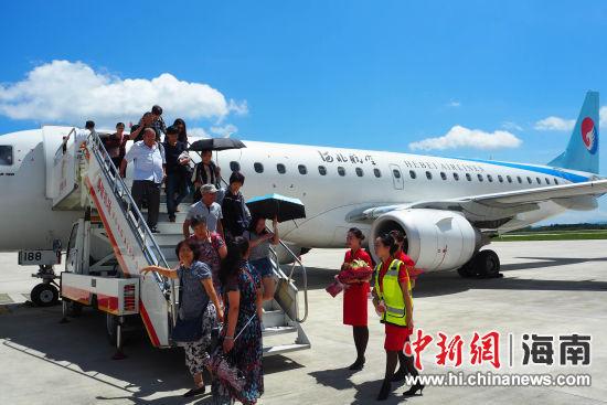 每周二,四,六各一班,航班号为ns3295/ns3296,石家庄-长沙09:05-11:10