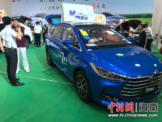 某品牌的新能源汽车