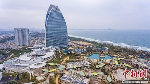 资料图:海南三亚海棠湾 中新社记者 骆云飞 摄