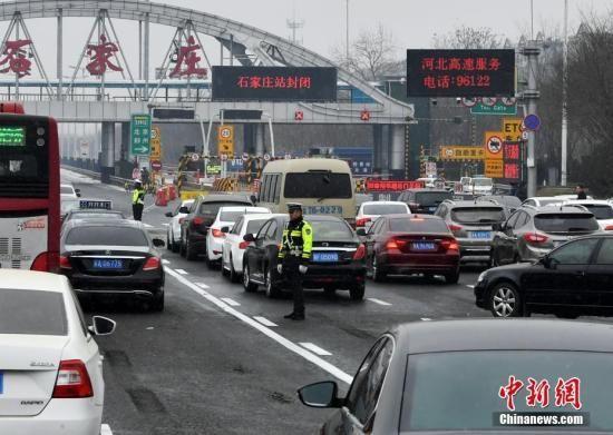 资料图:交通管理。中新社记者 翟羽佳 摄