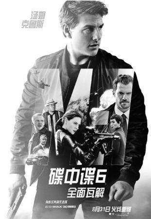 《碟中谍6》海报