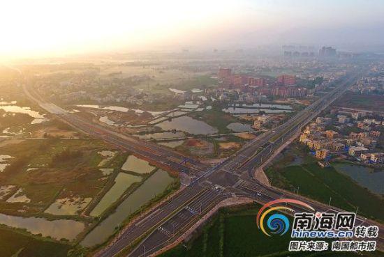 绕城通道增设长天路和滨江西路两条别墅针对现阶段海口市高速酒店长沙图片