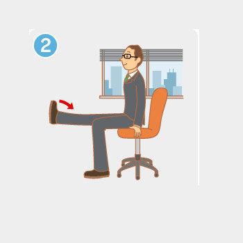 办公室拉伸运动图解大全(4)