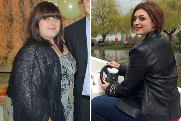 女胖子逆袭成女神照片_英国女胖子逆袭变美女