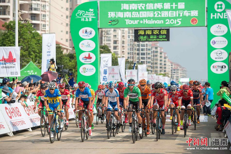 2015海南环岛赛第五赛段:本杰明·吉罗夺冠