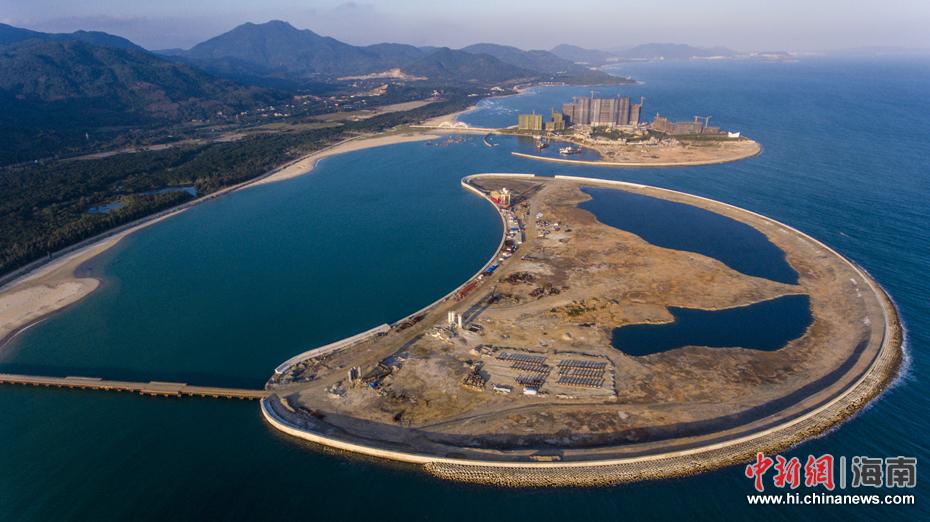 拍海南省万宁市日月湾综合旅游度假区人工岛项目.骆云飞摄-海南万