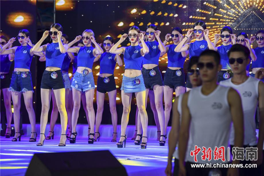 2019精功(国际)模特大赛全国总决赛62名选手亮相椰城