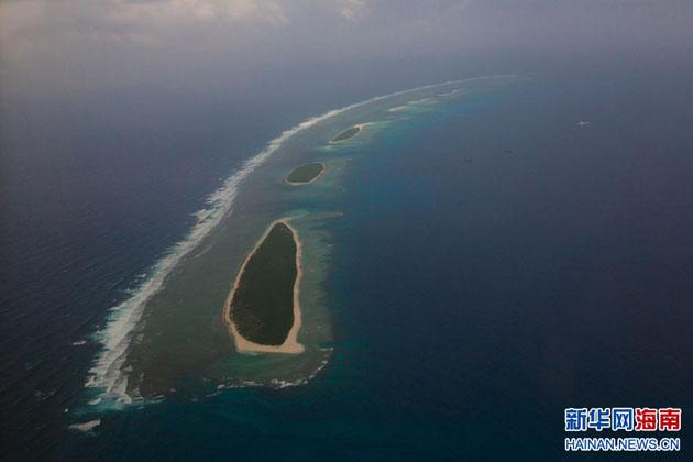 下辖西沙群岛,南沙群岛