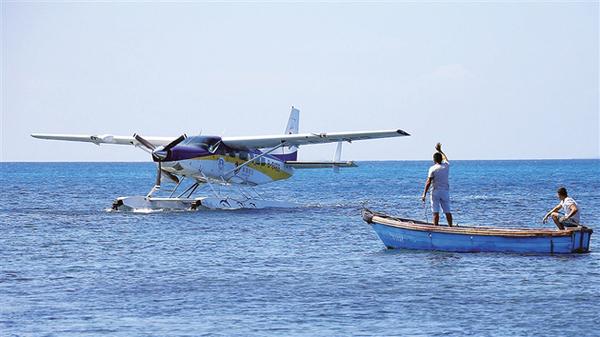 三沙将发展水上飞机旅游项目