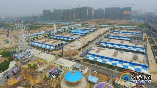 据了解,海口丁村万人海鲜广场位于海口市龙昆南路延长线,项目按