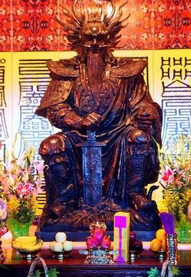 南海龙王像