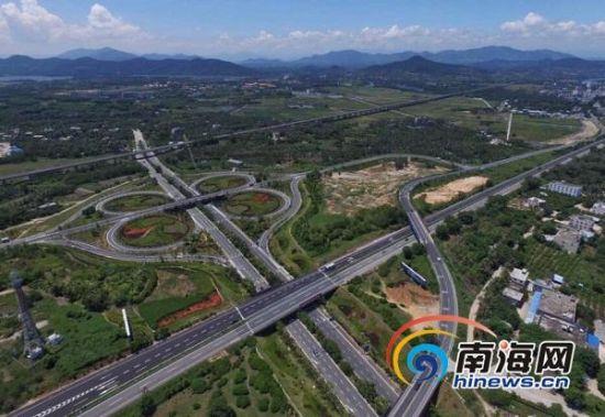 白沙快速出口路,五指山至保亭至海棠湾高速公路已确定于今年12月中