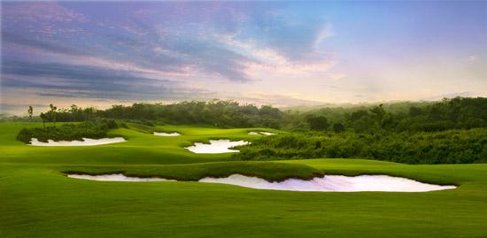 观澜湖高尔夫球场