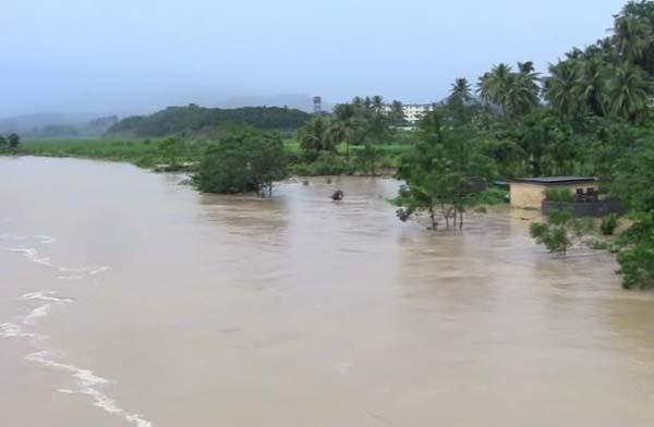 全县9个乡镇降雨量均在600毫米以上,什玲镇八村地区以及加茂镇,六弓乡