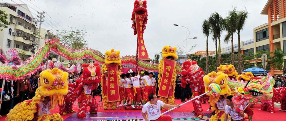 2011年第十二届中国海南岛欢乐节开幕