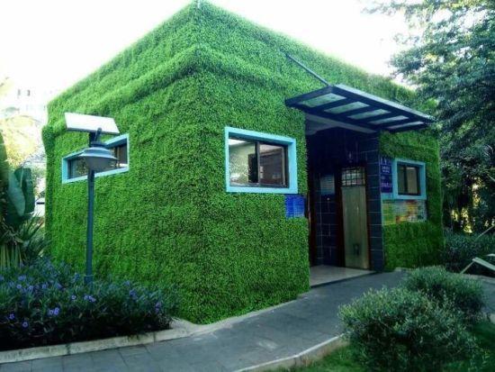 """一座厕所就是一道风景 秀英首批""""绿色""""公厕投用"""